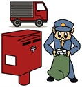 郵便ポストの時間