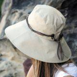 紫外線対策にUVカット帽子