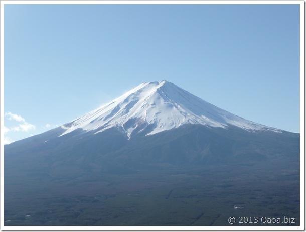 カチカチ山からの富士山