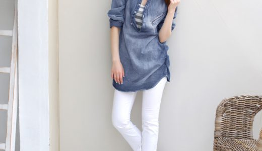 【雑誌掲載】大人カワイイ☆デニムシャツを500円引きで購入しました