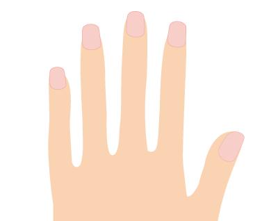 指の毛の脱毛と毛穴
