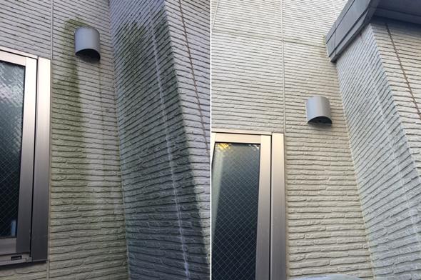ワンステップ・スプレー・クリーナー 使用前使用後