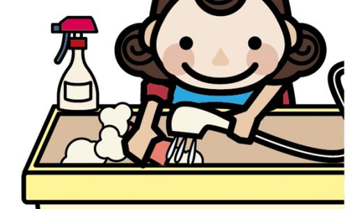 お風呂のカビ取り掃除を10倍楽にする方法と手順