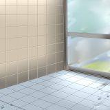 【作業時間30秒】 お風呂の頑固な黒カビが嘘みたいにキレイに。
