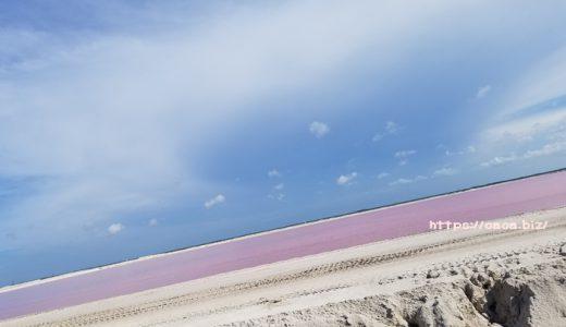 カンクン♡フォトジェニックスポット…ピンクレイクは絶対行くべき?