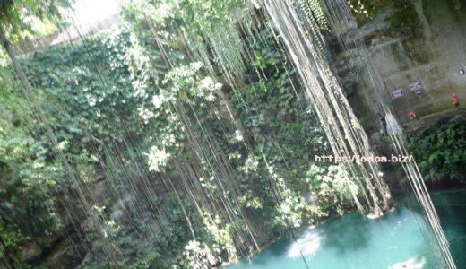Cenote Ik-Kil幻想的なセノーテ イ・キル